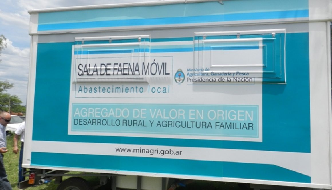 Mobiele slagpale in Argentina
