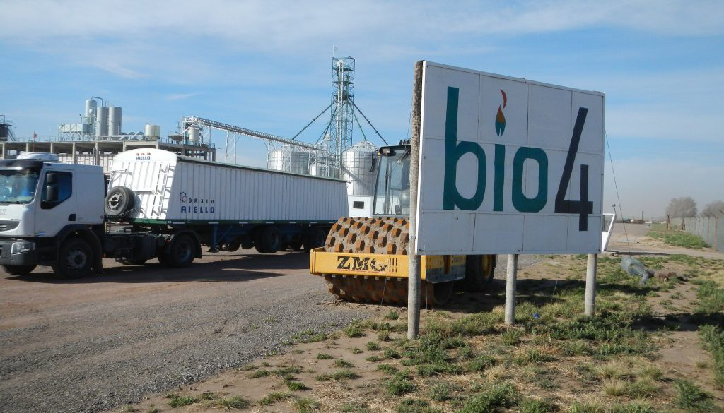 Bio4 Etanol aanleg in Argentina