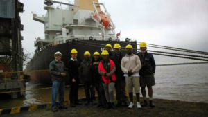 Farmer's Weekly 2014 Tour to Argentina - Laurik International at Rosario Harbour